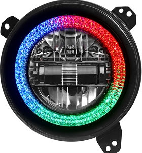 Diamond Series Jeep JL / JT RGB Headlights