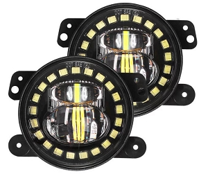 Jeep Halo Fog Lights