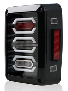 Jeep JK LED Diamond Tail Light