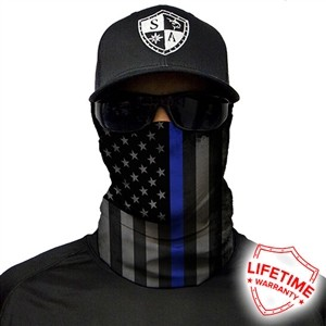 SA Thin Blue Line Face Shield