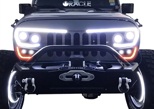 Oracle Lighting Jeep Vector Grill