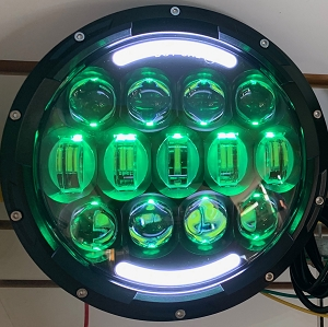 NightSun 7 Inch 105 Watt RGB Headlight