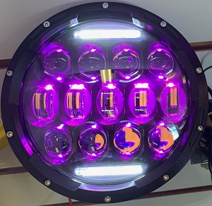 NightSun 75 Watt RGB Headlight