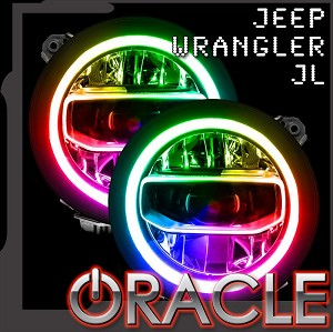 Oracle Jeep JL Colorshift Headlight