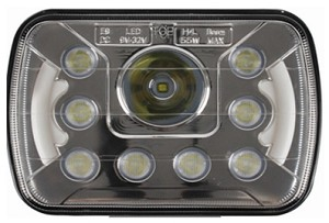 55 Watt 5x7 LED Headlight