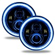 Oracle 7 Inch LED Blue Headlights