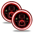 Oracle 7 Inch LED Red Headlights