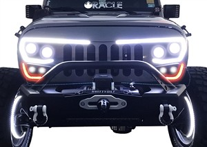 Oracle Lighting Jeep JK Vector Grill