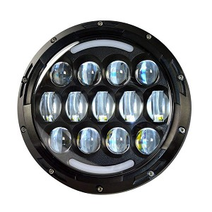 Jeep 105 Watt LED Headlights